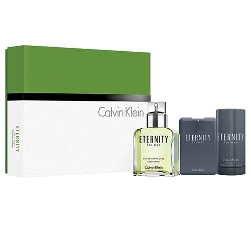Estojo Eternity Calvin Klein Eau de Toilette Masculino 100 Ml
