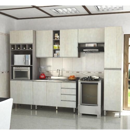 Cozinha Completa Luciane Cozinhas Cannes 10 Portas 4 Gavetas