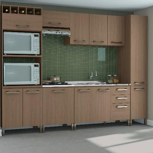 Cozinha Completa Kappesberg Sense 12 Portas 3 Gavetas