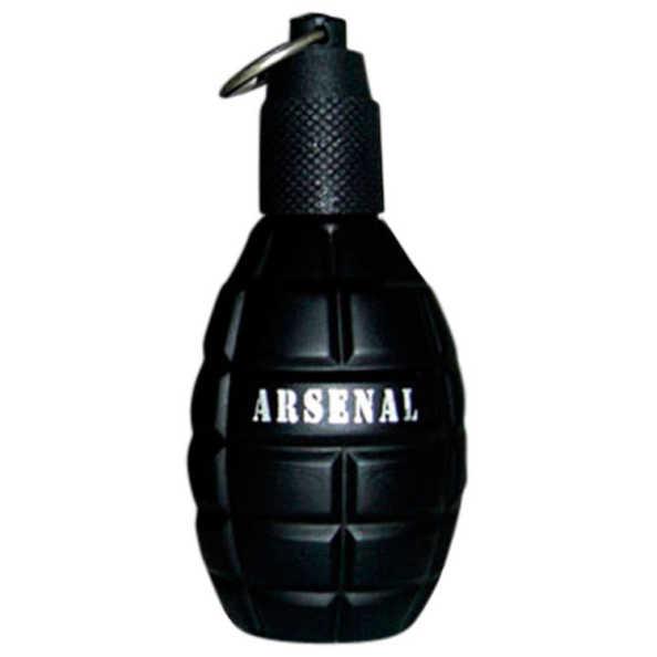 Perfume Arsenal Black Homme Gilles Cantuel Eau de Parfum Masculino 100 Ml