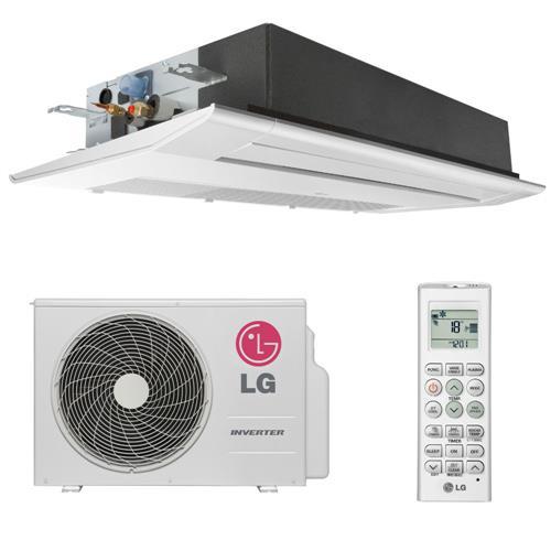 Ar Condicionado Split Cassete 11000 Btu Frio - Inverter - Lg - 220v - At-q12gula0