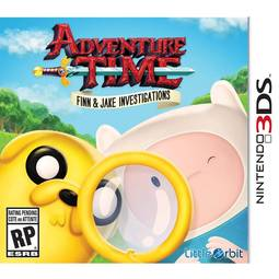 Jogo Adventure Time Finn & Jake Investigations - 3ds - Little Orbit