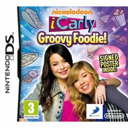 Jogo Icarly: Groovy Foodie! - Nds - D3publisher