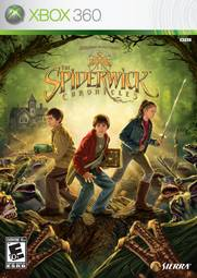Jogo The Spiderwick Chronicles - Xbox 360 - Sierra Entertainment