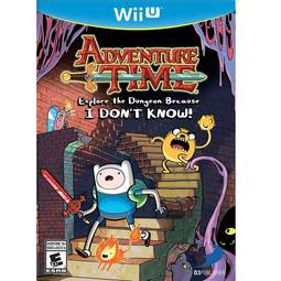 Jogo Adventure Time Explore The Dungeon Because I Dont Know - Wii U - D3publisher
