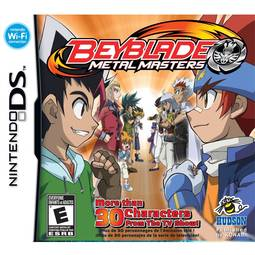 Jogo Beyblade Metal Masters - Nds - Hudson Entertainment