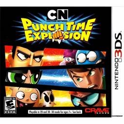 Jogo Cartoon Network: Punch Time Explosion - 3ds - Crave