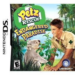 Jogo Petz Rescue: Endangered Paradise - Nds - Ubisoft