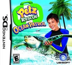 Jogo Petz Rescue Ocean Patrol - Nds - Ubisoft