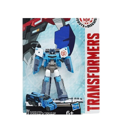Boneco Transformers Robots In Disguise Legion Optimus Prime Ataque Glacial Hasbro