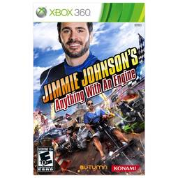 Jogo Jimmie Johnson's Anything With An Engine - Xbox 360 - Konami