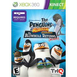 Jogo Penguins Of Madagascar: Dr. Blowhole Returns Again - Xbox 360 - Thq