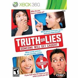 Jogo Truth Or Lies Someone Will Get Caught - Xbox 360 - Thq