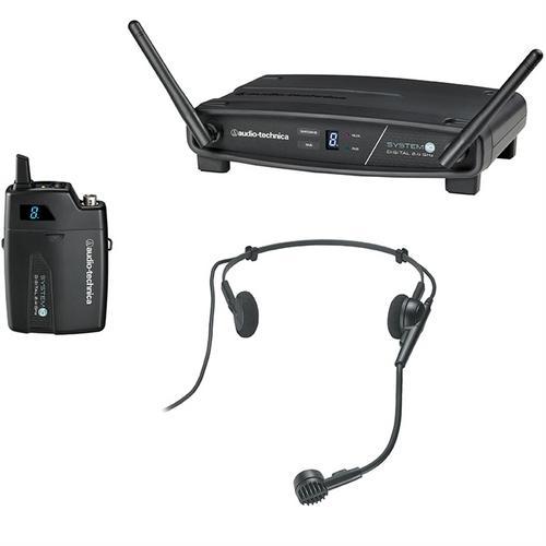 Kit Microfone de Cabeça Pro + Receptor + Transmissor Atw-1101h Audio Technica