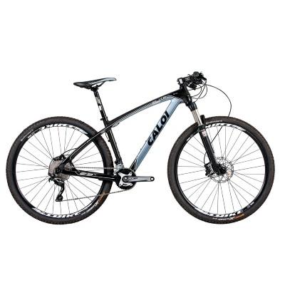 Bicicleta Caloi Elite Sport T19 Aro Susp. Dianteira 10 Marchas - Azul/cinza