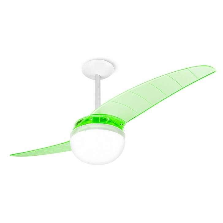 Ventilador de Teto 2 Pás Spirit Prime Verde 114cm - 110v - 202