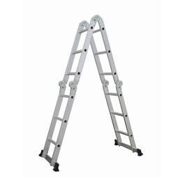 Escada de Aço Articulada Jlap 4x3 12 Degraus 20114 Br Home