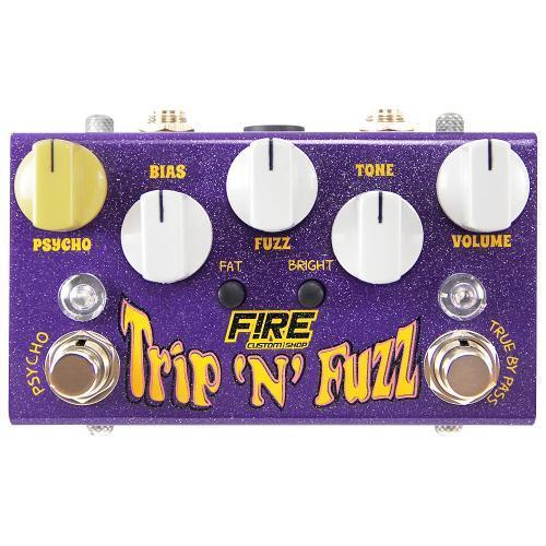 Pedal para Guitarra Trip N Fuzz Fire Custom Shop