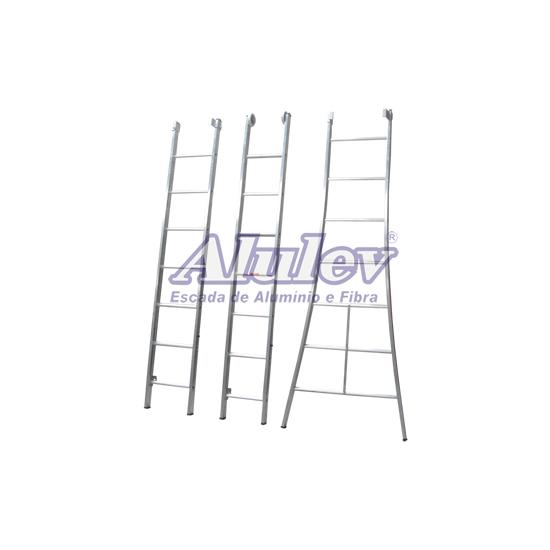 Escada de Alumínio 9 Degraus 3l109 Alulev