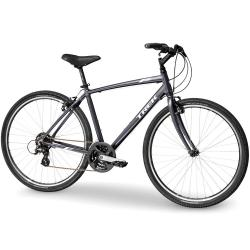 Bicicleta Trek Bikes Verve 1 T22.5 Aro 700 Rígida 21 Marchas - Cinza