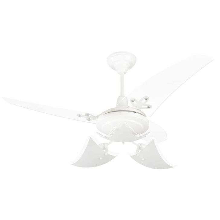 Ventilador de Teto 3 Pás Arge Lúmina Branco 112cm - 220v