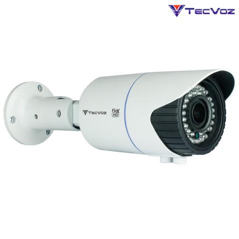 Câmera Tecvoz Flex Hd 4 em 1 Infra Red Bullet Varifocal - Qcb-20v