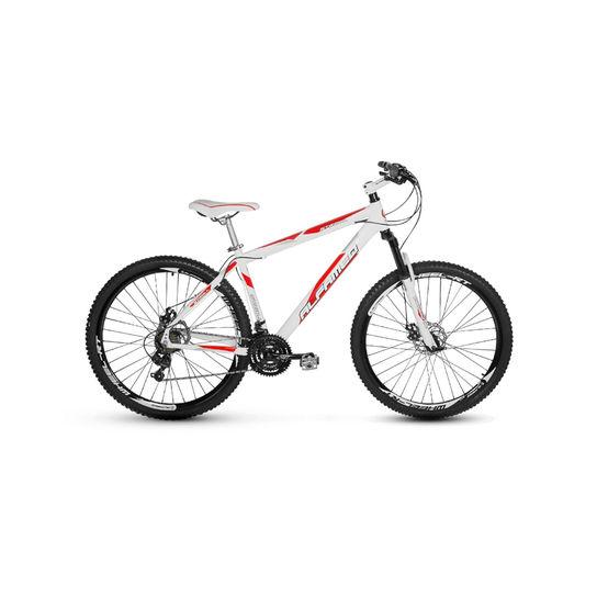Bicicleta Alfameq Stroll Disc T17 Aro 29 Susp. Dianteira 27 Marchas - Branco/vermelho