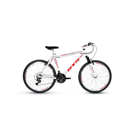 Bicicleta Gts Feel Disc T17 Aro 29 Susp. Dianteira 21 Marchas - Branco