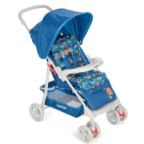 Carrinho de Bebe Voyage Soft Azul