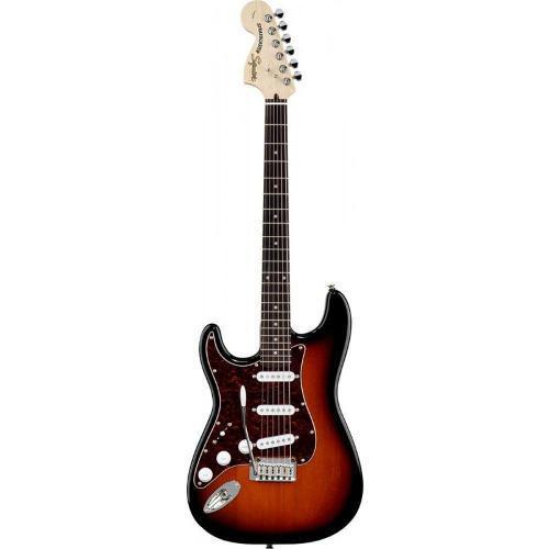 Guitarra Squier Stratocaster Standard Lh Sunburst