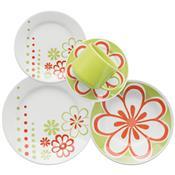 Aparelho de Jantar e Chá Donna Euforia 30 Peças - Biona Cerâmicas