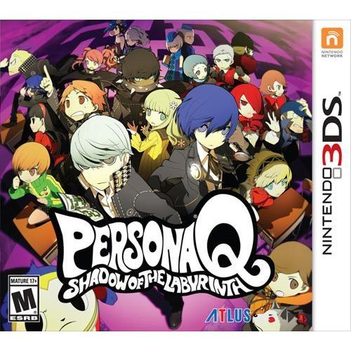Jogo Persona Q: Shadow Of The Labyrinth - 3ds - Atlus