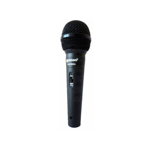 Microfone Profissional Prata Lm-580 Lexsen