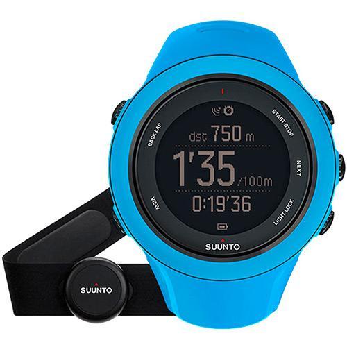 Monitor Cardíaco Sport Azul Suunto - Ambit3
