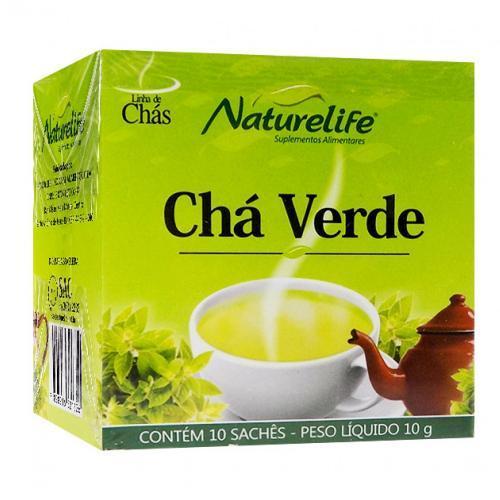 Naturelife Chá Verde - 10 Sachês