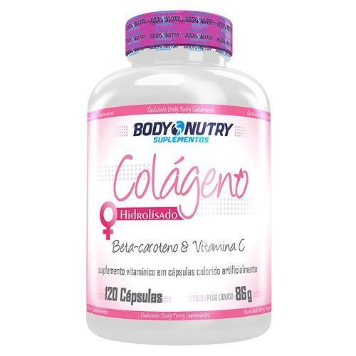 Body Nutry Colágeno Hidrolisado 120 Cápsulas