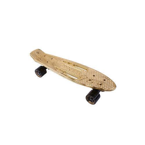 Skate Cruiser Dourado Kronik