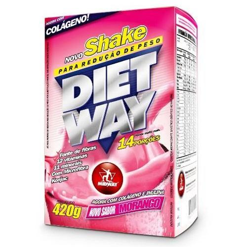 Midway Diet Way 420g Cappuccino