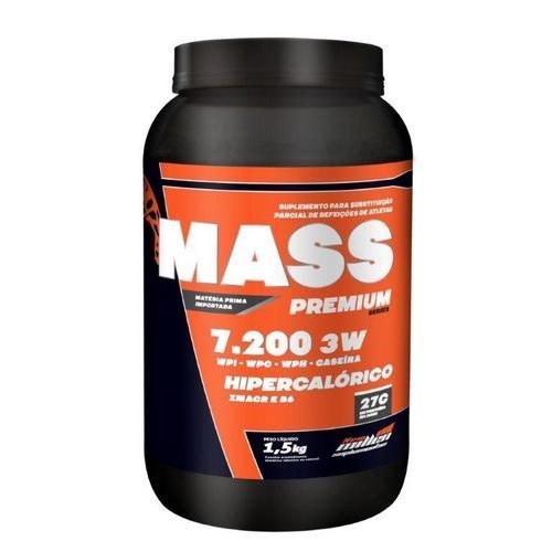 Mass 7200 3w 1,5kg Baunilha New Millen
