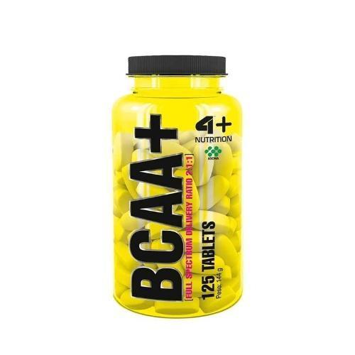 Bcaa+ - 125 Cápsulas 4 Plus Nutrition