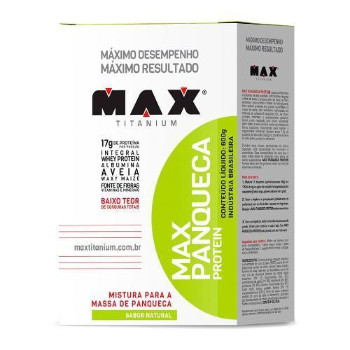 Max Panqueca 600g Max Titanium