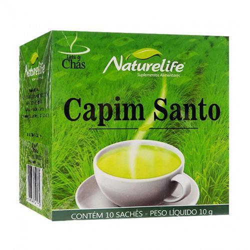 Naturelife Chá de Capim - 10 Sachês
