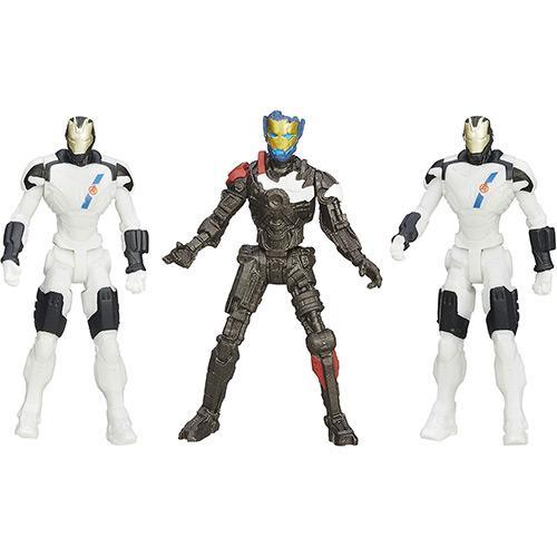 Bonecos os Vingadores Duplo 2.5 Ultron Mark 1 Vs Iron Legion Hasbro