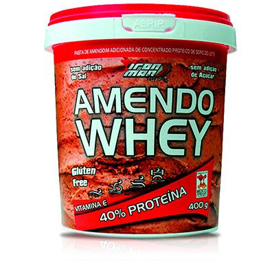 Whey + 900g Amendoa e Chocolate 4 Plus Nutrition