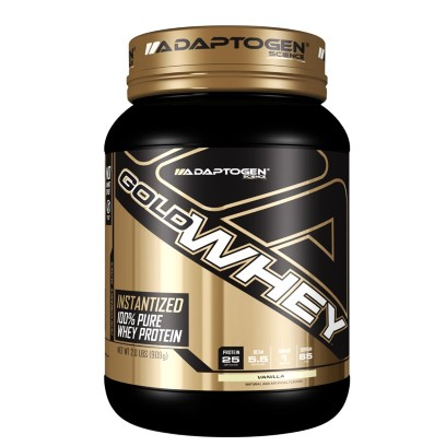Gold Whey 907g Chocolate Adaptogen Science