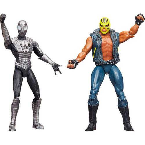 Bonecos Marvel Spider Man Blindado e Rage Hasbro