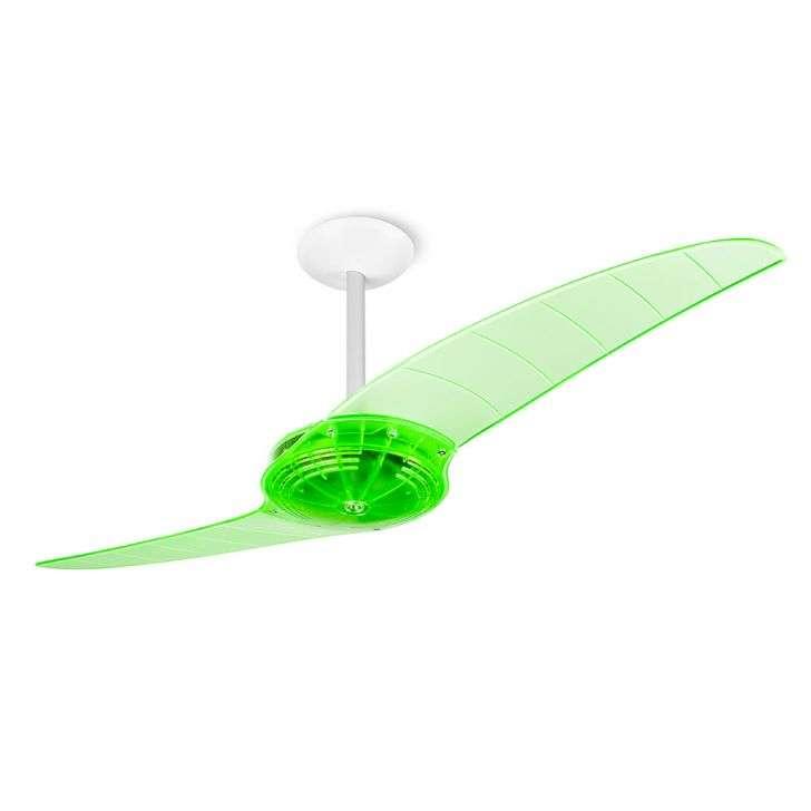 Ventilador de Teto 2 Pás Spirit Prime Verde 114cm - 110v - 200