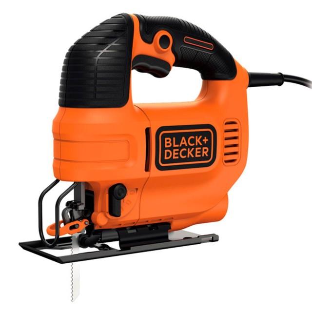Serra Elétrica Tico-tico Black & Decker C/ Ação Pendular Ks701pek 550w Com Maleta - 220v