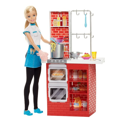 Boneca Barbie Mattel Chef de Massas Dmc36