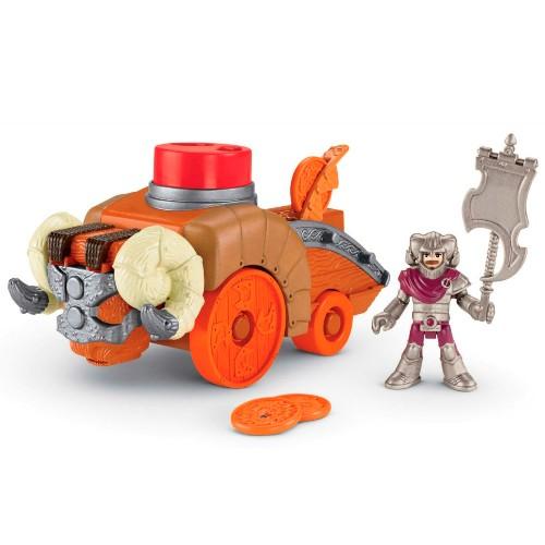 Figura Imaginext Veículos do Castelo Ataque Mattel